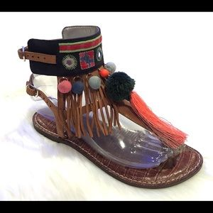Sam Edelman Gere Sandals Size 6 Bohemian Shoes